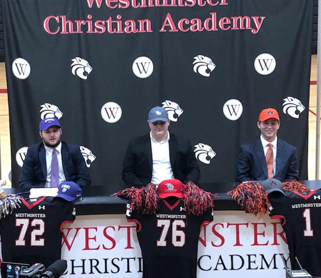 Billings, Johnson, and Pride commit to play college football