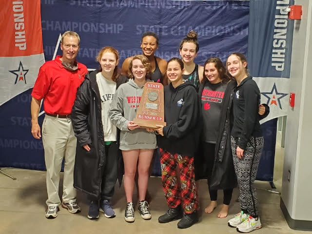 Girls Swim Team finishes 2nd in Class 6A-7A!