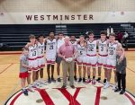 Westminster Boys Basketball Coach Ronnie Stapler gets his 800th Career Victory