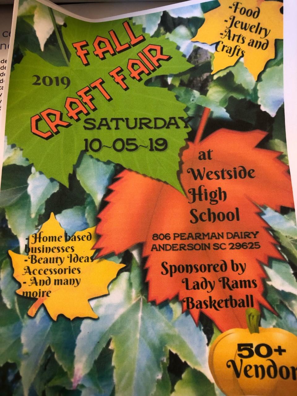 Lady Rams Fall Craft Fair