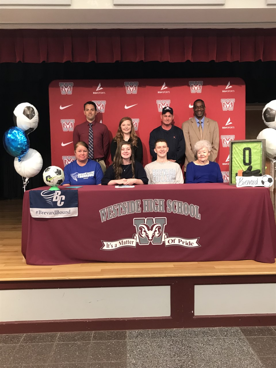 Payton Claudson Signs with Brevard College