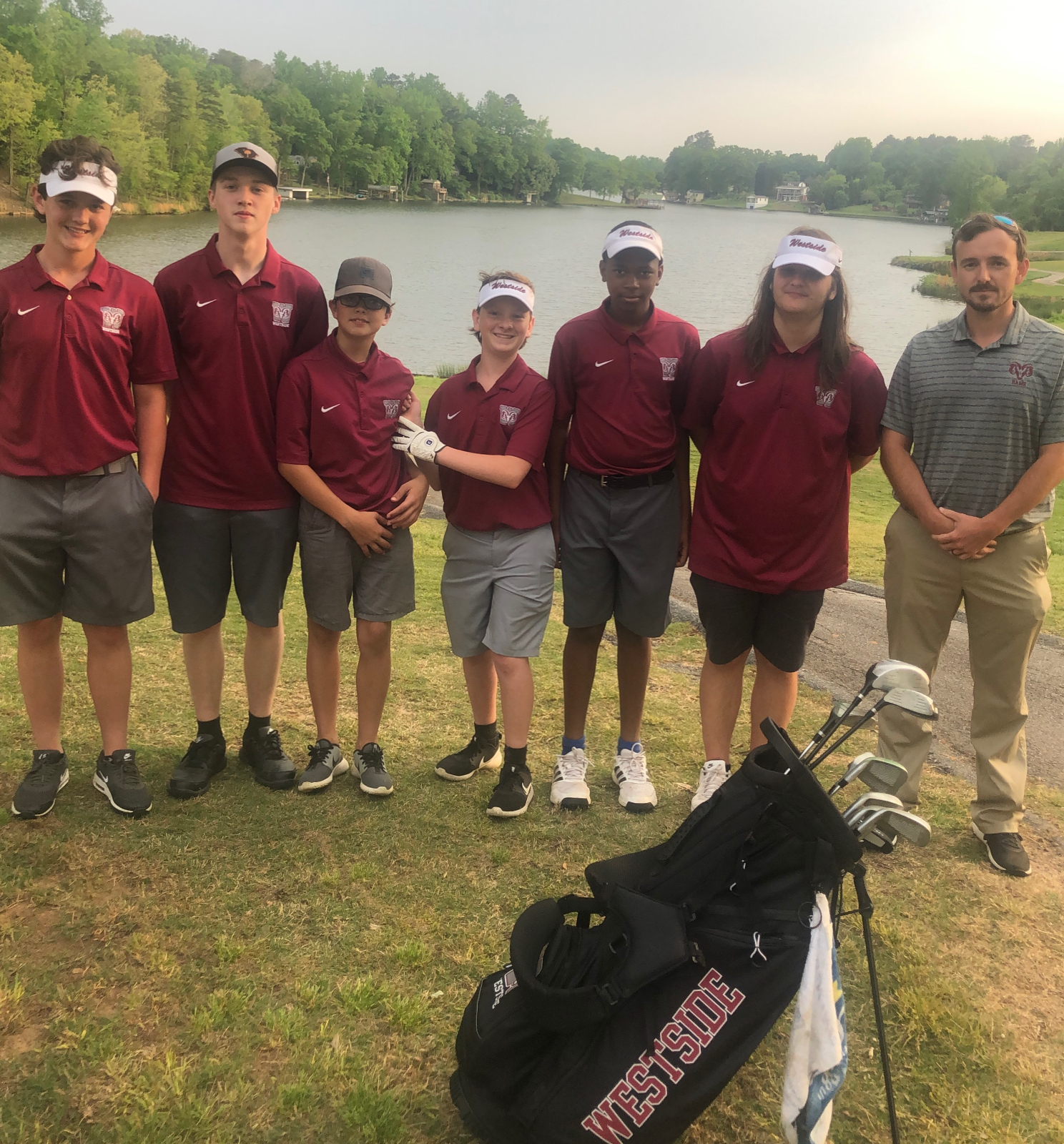 JV Wins First Golf Match In Westside History