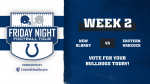 2nd Round Voting! Colts Friday Night Football Tour