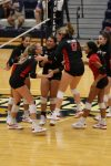 Bulldogs fall to Pioneers in straight sets
