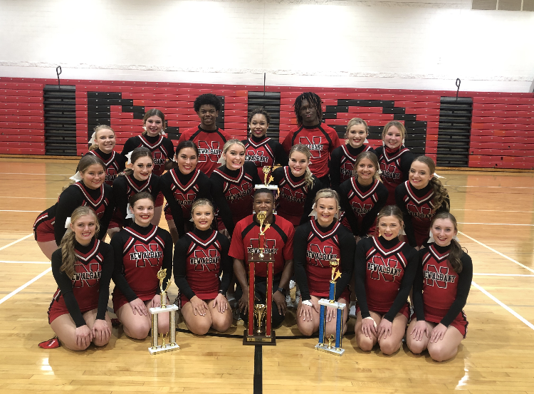 Congrats to the NAHS Cheerleaders! 2nd place @ Nationals!