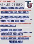 GTJHS Winter Athletics Information!