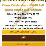 2019 Fall Sports Awards