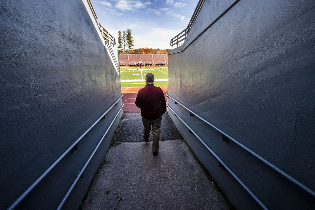 During The Pandemic, A High School Athletic Director Is All Work, So Others Can Play