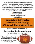 Football Booster Information for the 2020 Football Season