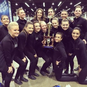 Wildcat Poms place 5th at Nationals in Anaheim, CA!