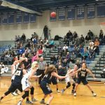 Fruita Monument High School Girls Varsity Basketball falls to Cherry Creek High School 71-43