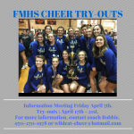 2017 Varsity Cheer Try-outs