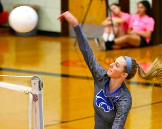 Riley Snyder Voted All-State Volleyball