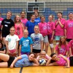 Youth Volleyball Camp:  June 4-7