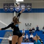 Varsity Volleyball beats Timberland 3 – 0