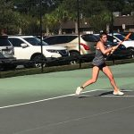Girls Varsity Tennis beats Ashley Hall School 7 – 2