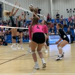 Varsity Volleyball beats Academic Magnet 3 – 0