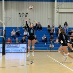Varsity Volleyball beats Burke 3 – 0