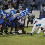 Varsity Football beats Burke 42 – 0