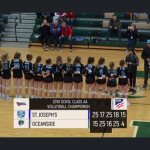 Volleyball Loses a Heartbreaker in the 5th Set
