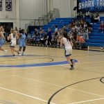 Girls Varsity Basketball loses late against Hilton Head HS.