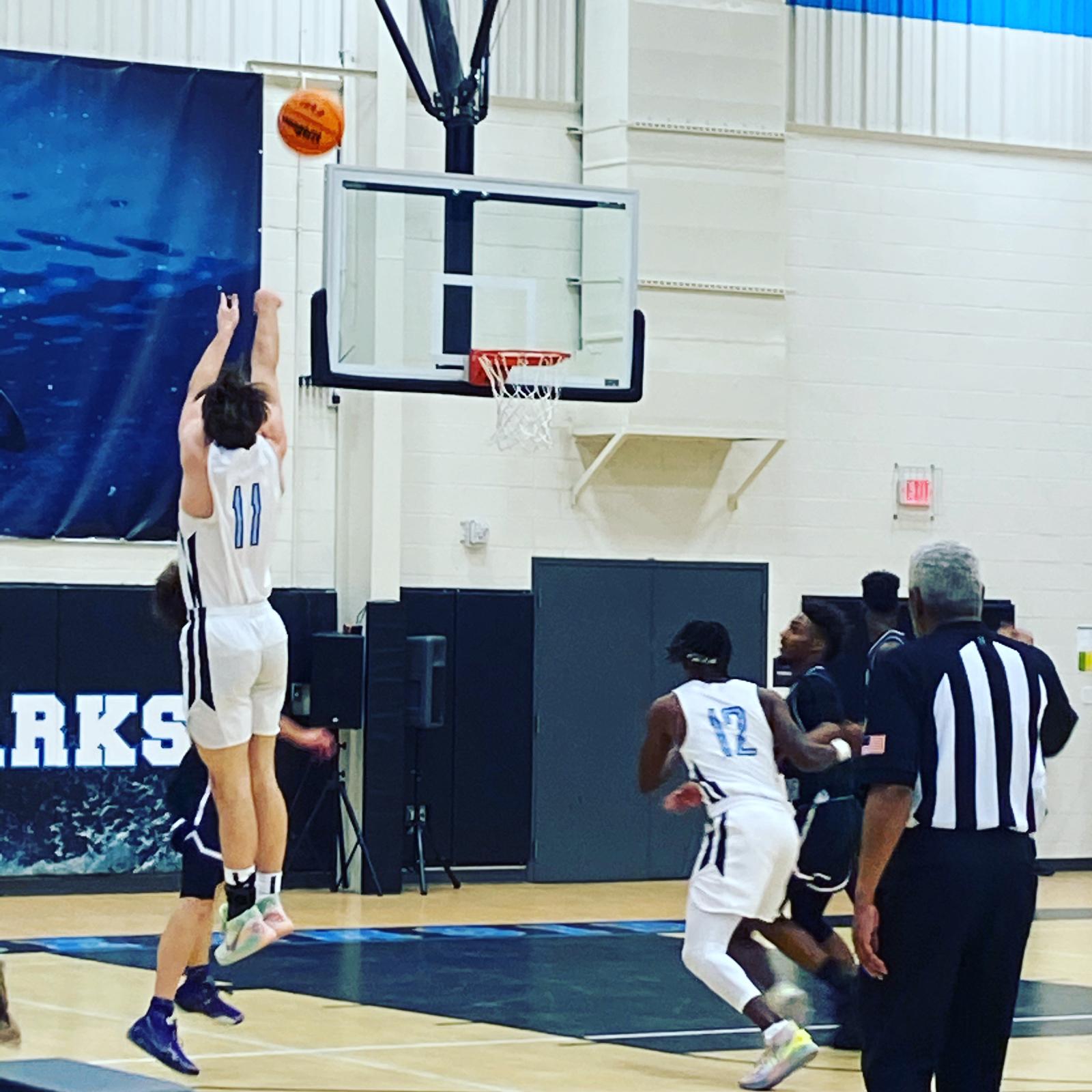 Boys Varsity Basketball Eases Past Philip Simmons!
