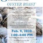 Oyster Roast!