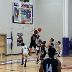 Boys Varsity Basketball beats North Charleston 57 – 54