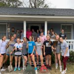 Women's Soccer Helps Meals On Wheels!