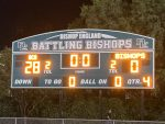 Junior Varsity Football beats Bishop England 28 – 0