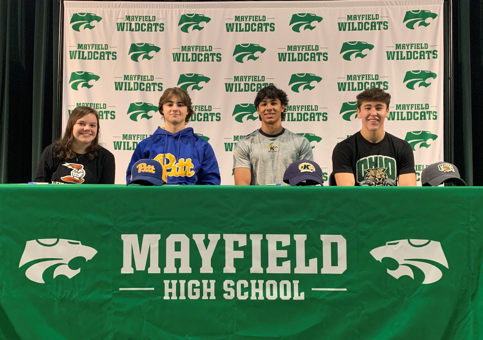 Four Wildcats Make College Commitments