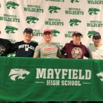 Five Mayfield Football Players Make College Commitments