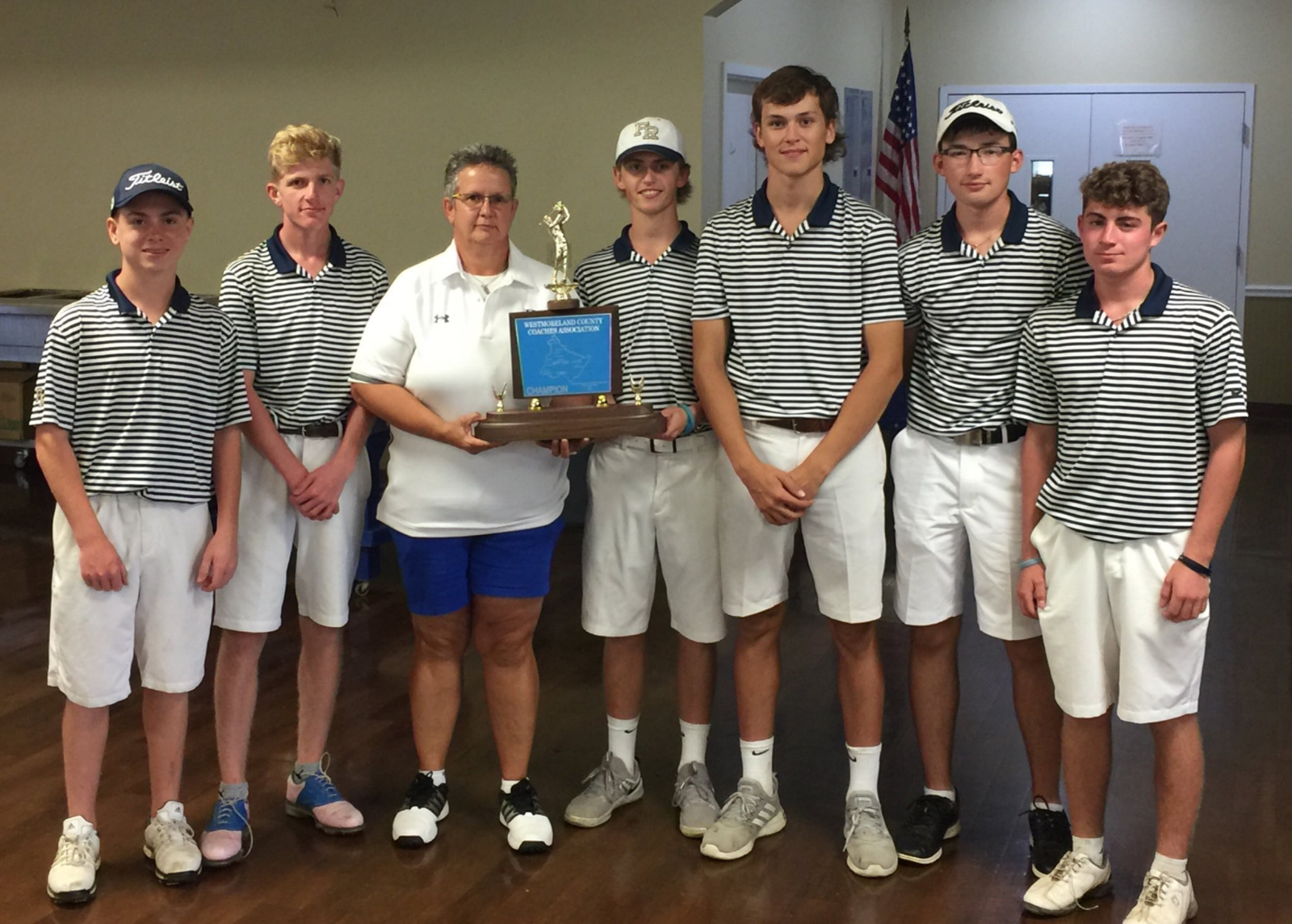 Boys Golf wins 4th Consecutive WCCA Championship