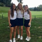 Girls Golf competes in the section qualifier