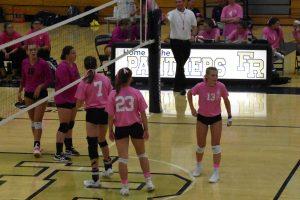 Volleyball (DIG PINK) vs. Kiski Area