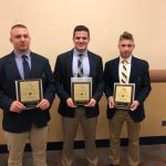 Football Players Honored at Big 56 Banquet