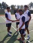 Panthers Finish 1st and 2nd in Section Doubles Tournament
