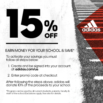 Team up and save with adidas
