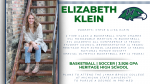 Elizabeth Klein Named SVL Female Student Athlete of the Year