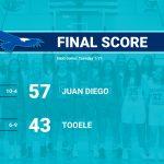 JD Girls Varsity Basketball takes down the Buffaloes at home 57 – 43
