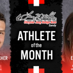 The Larry H. Miller in Sandy February Athlete of the month is…