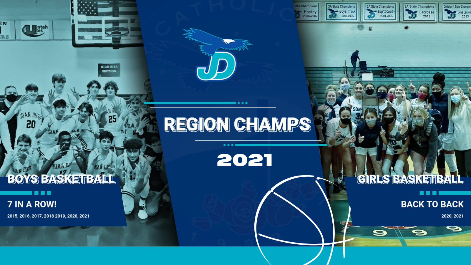 JD Claims Region Titles in both Girls and Boys Basketball