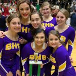 Warrior Cheer Team Places 10th at State