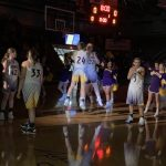 Warriorettes defeats New Washington 54 – 45