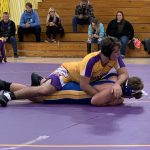 Warrior Wrestling Drops Pair to Brown County & Southwestern in Triangle Meet