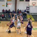 Warriorettes Junior Varsity Basketball beats Shawe Memorial MS/HS 45 – 10