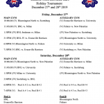Warriors BNL Tournament Schedule