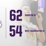 Warriors Junior Varsity beats West Washington HS 62 – 54