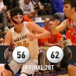 Warrior Junior Varsity Basketball falls to Paoli Jr/Sr HS 62 – 56