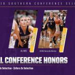 Mays, Zellers Garner Conference Honors